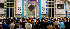 Start of the Ramadan 2018 in the Mevlana mosque - Rotterdam 16 May 2018