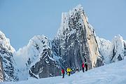Canadian Mountain Holidays heli-skiing & heli-snowboading, Bugaboos, British Columbia, Canada