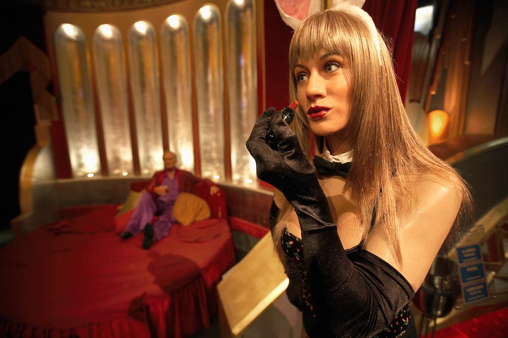 Playboy bunny .Madame Tussaud's Wax Museum.Las Vegas, Museum