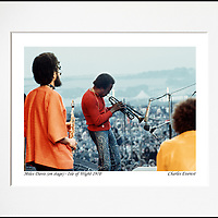 Miles, Gary &amp; Chick - An affordable archival quality matted print ready for framing at home.<br />