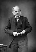 Thomas, Henry Huxley (1825-1895) aged 64. British biologist, supporter of Darwin and evolution. Grandfather of Julian and Aldous Huxley. From a photograph published London, 1890-1894.