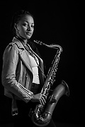 London-based saxophonist and composer, Nubya Garcia, is one of the leading forces behind the resurgence of jazz-influenced sounds in the UK.<br /> <br /> Raised in a creative environment built by a set of Caribbean parents, her brand of afro-tinged jazz has made her a key component in a string of new and established groups: from work with legendary jungle producer and toaster, Congo Natty, through to her own works as part of the Theon Cross Trio, six-piece Maisha, and the N&eacute;rija septet.<br /> <br /> Spring 2017 will see her release her first solo project via forward-thinking imprint, Jazz re:freshed. The project &mdash; which explores the common ground between progressive jazz, hip hop and soulful, groove led rhythms &mdash; is set to cement her credentials in UK music.