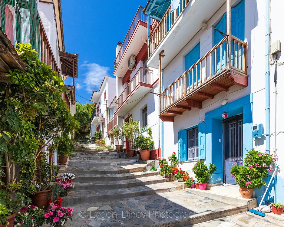 Town of Skopelos