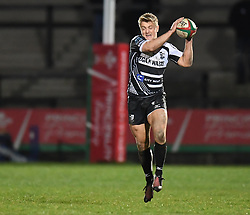 Diggy Bird of Pontypridd<br /> <br /> Photographer Mike Jones/Replay Images<br /> <br /> Principality Premiership - Neath v Pontypridd - Friday 16th March 2018 - The Gnoll Neath<br /> <br /> World Copyright © Replay Images . All rights reserved. info@replayimages.co.uk - http://replayimages.co.uk