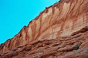 Israel, Negev desert, arid rock formations