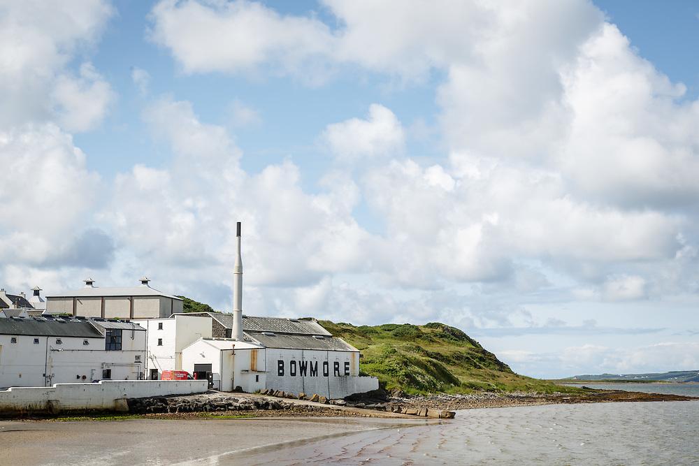 Bowmore Distillery in Bowmore, Isle of Islay, Scotland, July 15, 2015. Gary He/DRAMBOX MEDIA LIBRARY