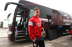 Joe Bryan of Bristol City arrives at Barnsley - Mandatory by-line: Robbie Stephenson/JMP - 30/03/2018 - FOOTBALL - Oakwell Stadium - Barnsley, England - Barnsley v Bristol City - Sky Bet Championship