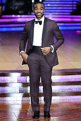 Host Ore Oduba poses for photographers during a photocall before the opening night of the Strictly Come Dancing Tour 2019 at the Arena Birmingham.
