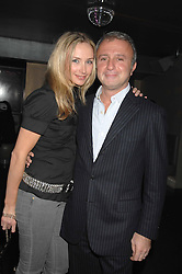 RAFFI & JO MANOUKIAN at a party hosted by Kitts nightclub in honour of Ed Godrich to than him for his work on designing the club in Sloane Square, London on 1st March 2007.<br />