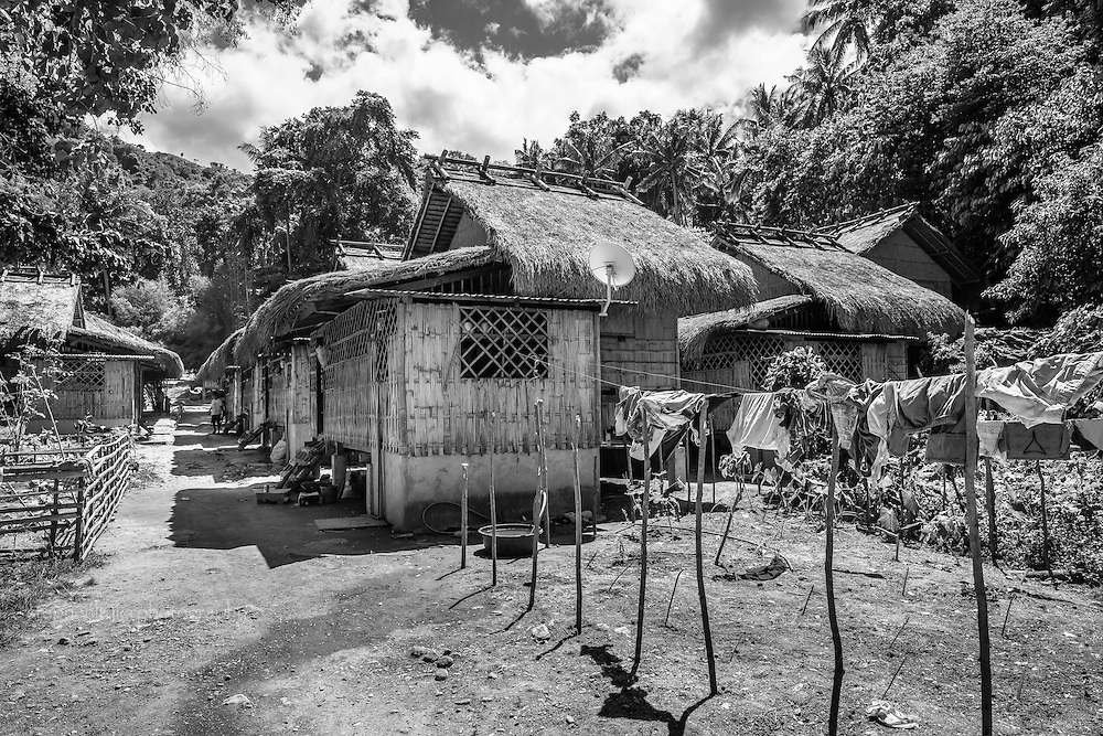 A community of the Iraya, a subtribe of the Mangyan, and their everyday life in the village developed by the Ayala family in Mindoro.
