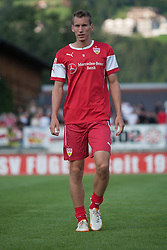 06.08.2014, Sportplatz, Fügen, AUT, Testspiel, VfB Stuttgart vs Caykur Rizespor, im Bild Florian Klein// during a friendly Match between VfB Stuttgart and Caykur Rizespor at the Football Stadium in Fügen, Austria on 2014/08/06. EXPA Pictures © 2014, PhotoCredit: EXPA/ Jakob Gruber