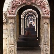Arches at Pashupati, Kathmandu, Nepal