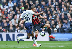 Chris Lowe of Huddersfield Town controls the ball - Mandatory by-line: Arron Gent/JMP - 13/04/2019 - FOOTBALL - White Hart Lane - London, England - Tottenham Hotspur v Huddersfield Town - Premier League