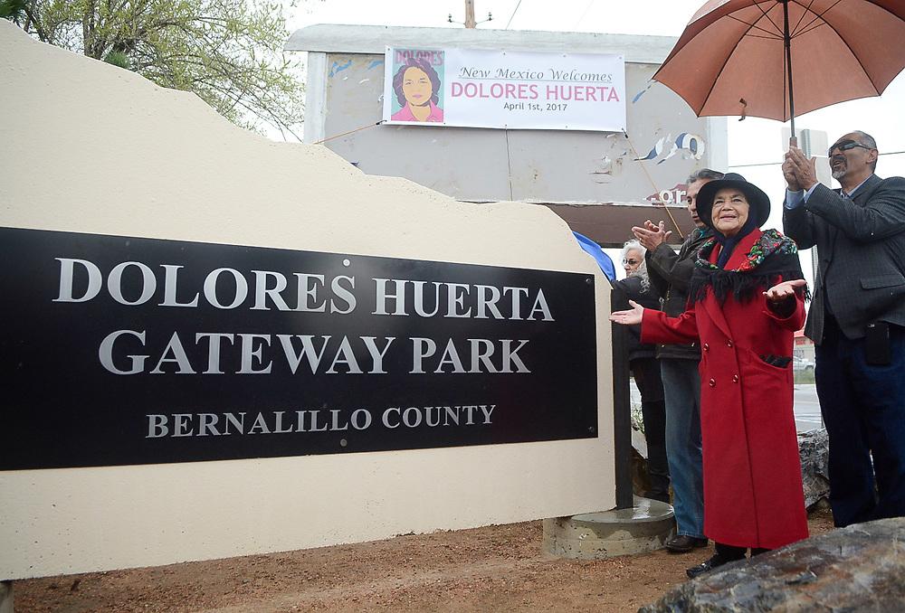 César Chavez Day, Albuquerque, N.M., Saturday, April 1, 2017 (Marla Brose/Albuquerque Journal)