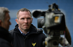 Oxford United Manager Michael Appleton is interviewed on sky sport prior to kick off. - Mandatory byline: Alex James/JMP - 17/01/2016 - FOOTBALL - The Kassam Stadium - Oxford, England - Oxford United v Bristol Rovers - Sky Bet League Two