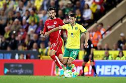 Wesley Hoolahan of Norwich City runs with the ball - Mandatory by-line: Robbie Stephenson/JMP - 16/08/2016 - FOOTBALL - Carrow Road - Norwich, England - Norwich City v Bristol City - Sky Bet Championship
