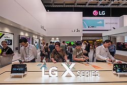 LG stand with X series tablets  at 2016  IFA (Internationale Funkausstellung Berlin), Berlin, Germany