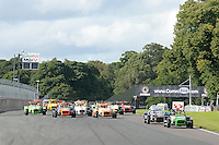 #90 Jack Brown Caterham Supersport during the ITC Compliance Caterham Supersport Championship at Oulton Park, Little Budworth, Cheshire, United Kingdom. August 13 2016. World Copyright Peter Taylor/PSP.