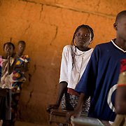 Children attending class at the Kabiline I Primary school in the village of Kabiline, Senegal on Wednesday June 13, 2007.....