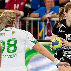 20130303: SLO, Handball - EHF Women's Champions League, RK Krim Mercator vs FTC Rail Cargo Hungaria