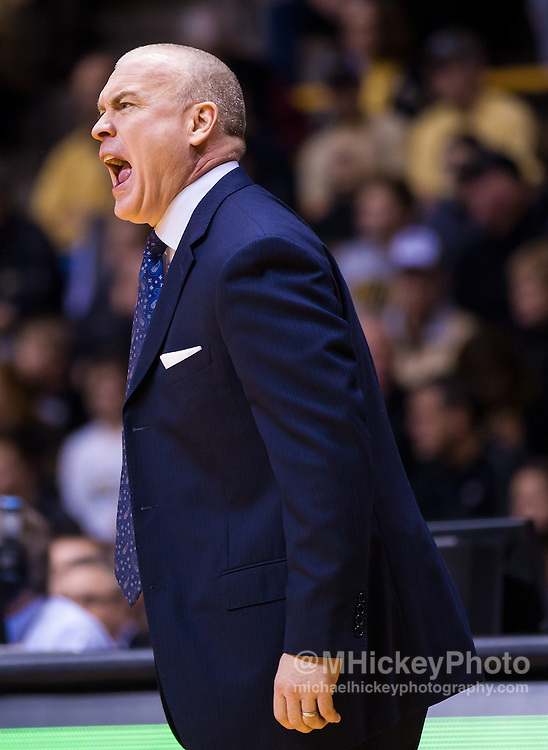 WEST LAFAYETTE, IN - JANUARY 13: Head coach Patrick Chambers of the Penn State Nittany Lions seen on the sidelines against the Purdue Boilermakers at Mackey Arena on January 13, 2013 in West Lafayette, Indiana. (Photo by Michael Hickey/Getty Images) *** Local Caption *** Patrick Chambers