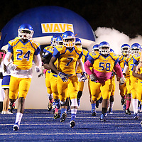 Adam Robison | BUY AT PHOTOS.DJOURNAL.COM<br /> Tupelo takes the field ready to play South Panola Friday night.