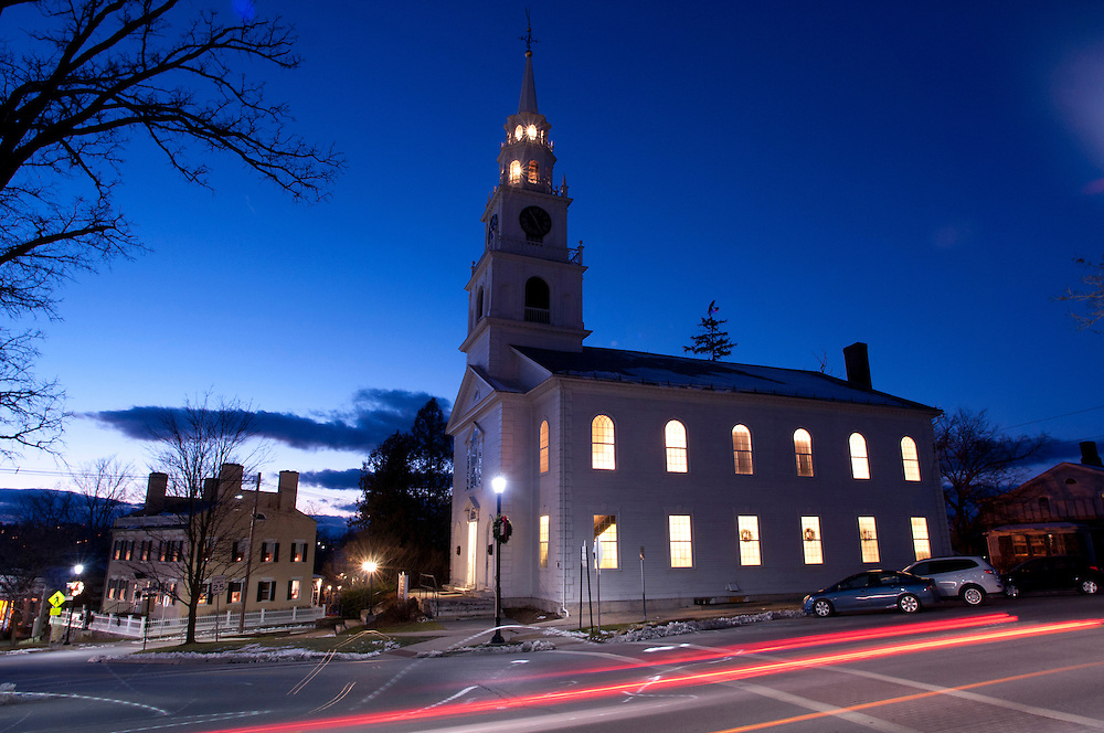 Middlebury, Vermont Congregational Church