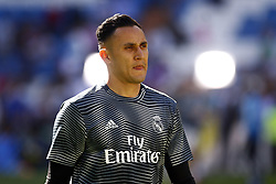 March 16, 2019 - Madrid, Madrid, Spain - Real Madrid CF's Keylor Navas seen before the Spanish La Liga match round 28 between Real Madrid and RC Celta Vigo at the Santiago Bernabeu Stadium in Madrid. (Credit Image: © Manu Reino/SOPA Images via ZUMA Wire)