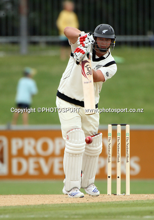 Jesse Ryder batting during play on day 3 of the second cricket test at McLean Park in Napier. National Bank Test Series, New Zealand v West Indies, Sunday 21 December 2008. Photo: Andrew Cornaga/PHOTOSPORT