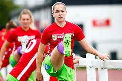 Poppy Pattinson of Bristol City prior to kick off - Mandatory by-line: Ryan Hiscott/JMP - 14/10/2018 - FOOTBALL - Stoke Gifford Stadium - Bristol, England - Bristol City Women v Birmingham City Women - FA Women's Super League 1