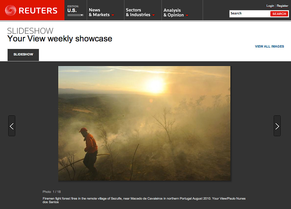Images published in Reuters Pictures website