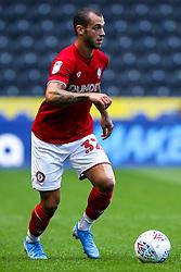 Pedro Pereira of Bristol City - Mandatory by-line: Robbie Stephenson/JMP - 24/08/2019 - FOOTBALL - KCOM Stadium - Hull, England - Hull City v Bristol City - Sky Bet Championship