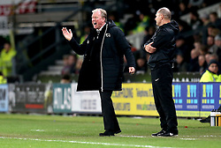 Derby County manager Steve McClaren looks frustrated - Mandatory by-line: Robbie Stephenson/JMP - 21/02/2017 - FOOTBALL - iPro Stadium - Derby, England - Derby County v Burton Albion - Sky Bet Championship