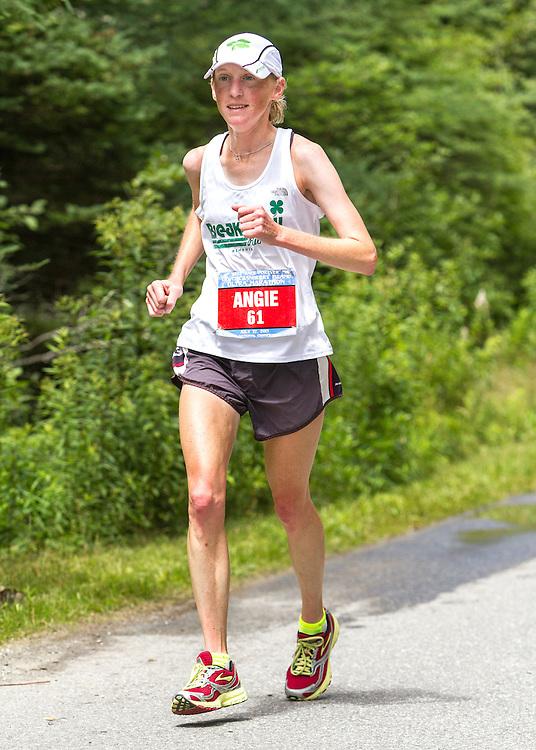 Great Cranberry Island Ultra 50K road race: Angie Zinkus