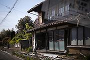 Inside the evacuated zone, Fukushima, Japan.