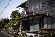 Inside the evacuated zone, Fukushima, Japan.