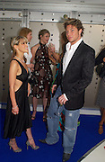 Rachel Stevens and Duncan James from Blue, Glamour Magazine's Women of the Year Awards, Berkeley Sq. 8 June 2004. ONE TIME USE ONLY - DO NOT ARCHIVE  © Copyright Photograph by Dafydd Jones 66 Stockwell Park Rd. London SW9 0DA Tel 020 7733 0108 www.dafjones.com