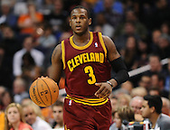 Nov. 09, 2012; Phoenix, AZ, USA; Cleveland Cavaliers guard Dion Waiters (3) handles the ball against the Phoenix Suns during the first half at US Airways Center. Mandatory Credit: Jennifer Stewart-US PRESSWIRE.