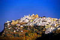 Village of Imerovigli, island of Santorini, the Cyclades, Greece