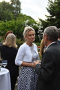 LADY MYNERS;  Dinner to celebrate the 10th Anniversary of Contemporary Istanbul Hosted at the Residence of Freda & Izak Uziyel, London. 23 June 2015