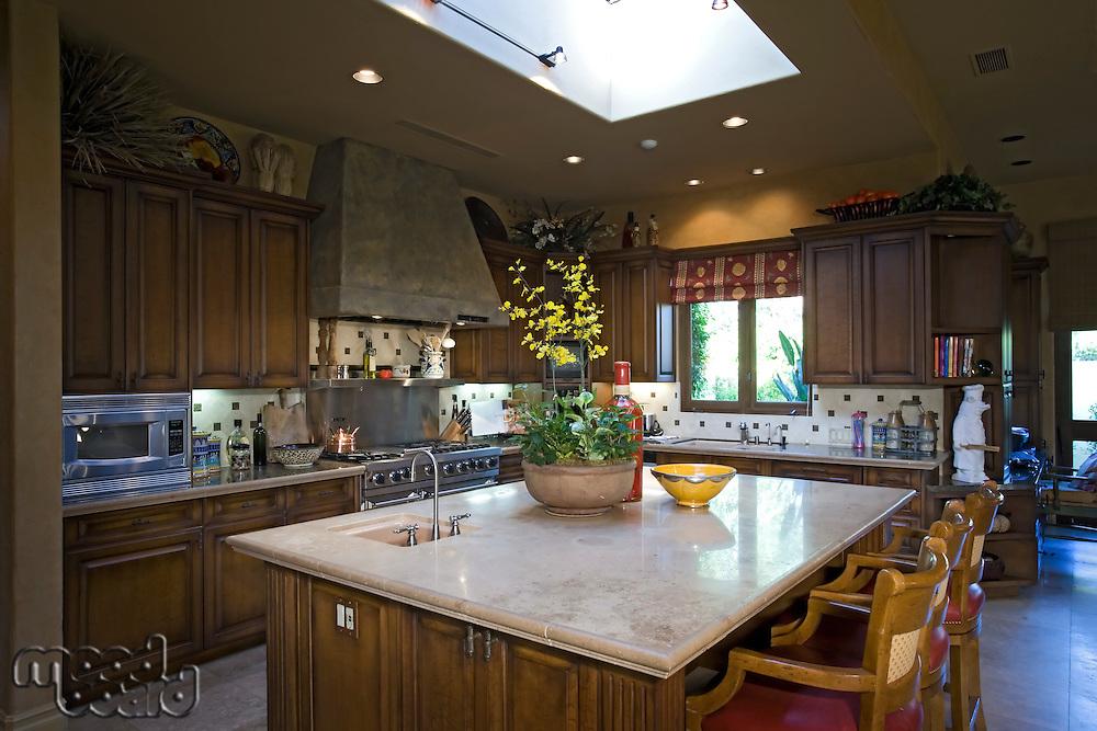 Luxury interior design kitchen