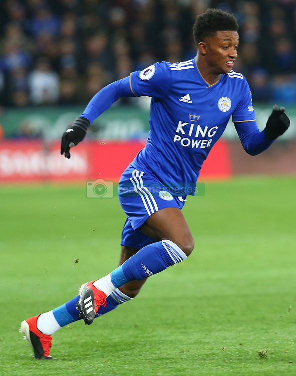 December 8, 2018 - Leicester, England, United Kingdom - Leicester, December 08, 2018.Leicester City's Demarai Gray.during the English Premier League match between Leicester City and Tottenham Hotspur at the King Power Stadium in Leicester, Britain, 8 December 2018  (Credit Image: © Action Foto Sport/NurPhoto via ZUMA Press)