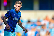Queens Park Rangers forward Ryan Manning (14) warms up prior to the EFL Sky Bet Championship match between Millwall and Queens Park Rangers at The Den, London, England on 21 September 2019.