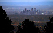 The city skyline is seen from the mountains looking east in Denver, Colorado, U.S., November 4, 2017. REUTERS/Rick Wilking