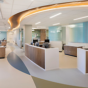 interior of Kaiser Stockton Oncology/Infusion - Images taken for HGA