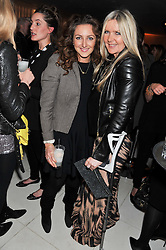 Left to right, NATASHA CORRETT and AMANDA WAKELEY at the Rodial Beautiful Awards 2013 held at St Martin's Lane Hotel, St.Martin's Lane, London on 19th March 2013.