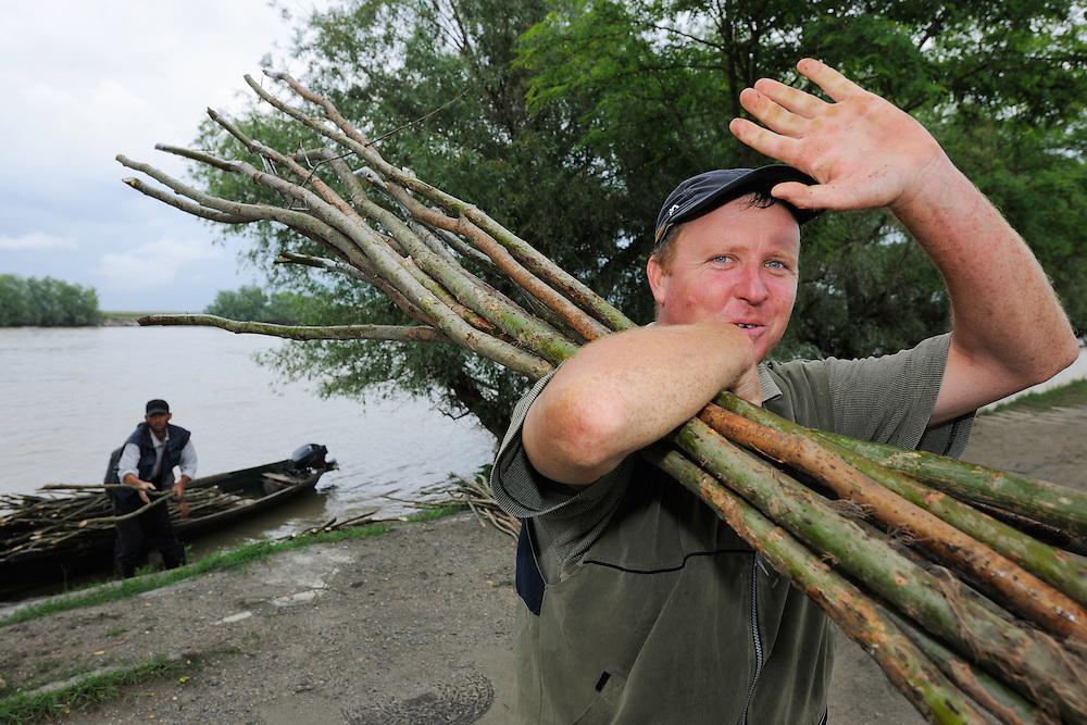 Crisan, Danube delta rewilding area, Romania