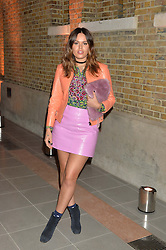 ATLANTA DE CADENET TAYLOR at the Future Contemporaries Party in association with Coach at The Serpentine Sackler Gallery, West Carriage Drive, Kensington Gardens, London on 21st February 2015.