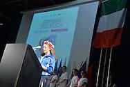 Inaugurazione delle Finali Nazionali Campionati Studenteschi di Orientirring e Badminton,Pala Levico 30 Maggio Levico Terme 2016 © foto Daniele Mosna