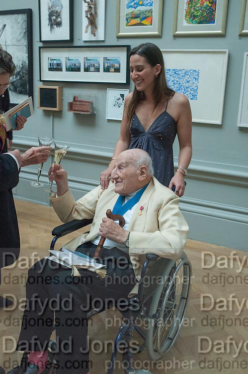 CHLOE MANASSEH; LEONARD MANASSEH, Royal Academy of Arts Annual dinner. Piccadilly. London. 29 May 2012.